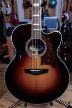 D'Angelico New York Premier Madison Jumbo Acoustic Guitar Sunburst DAPJ600VSBCP