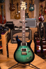 Paul Reed Smith PRS CE24 Custom Color Teal Burst Natural Back Electric Guitar