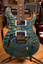 Paul Reed Smith PRS Custom 24 Semi-Hollow Wood Library Quilt Top Aquableux