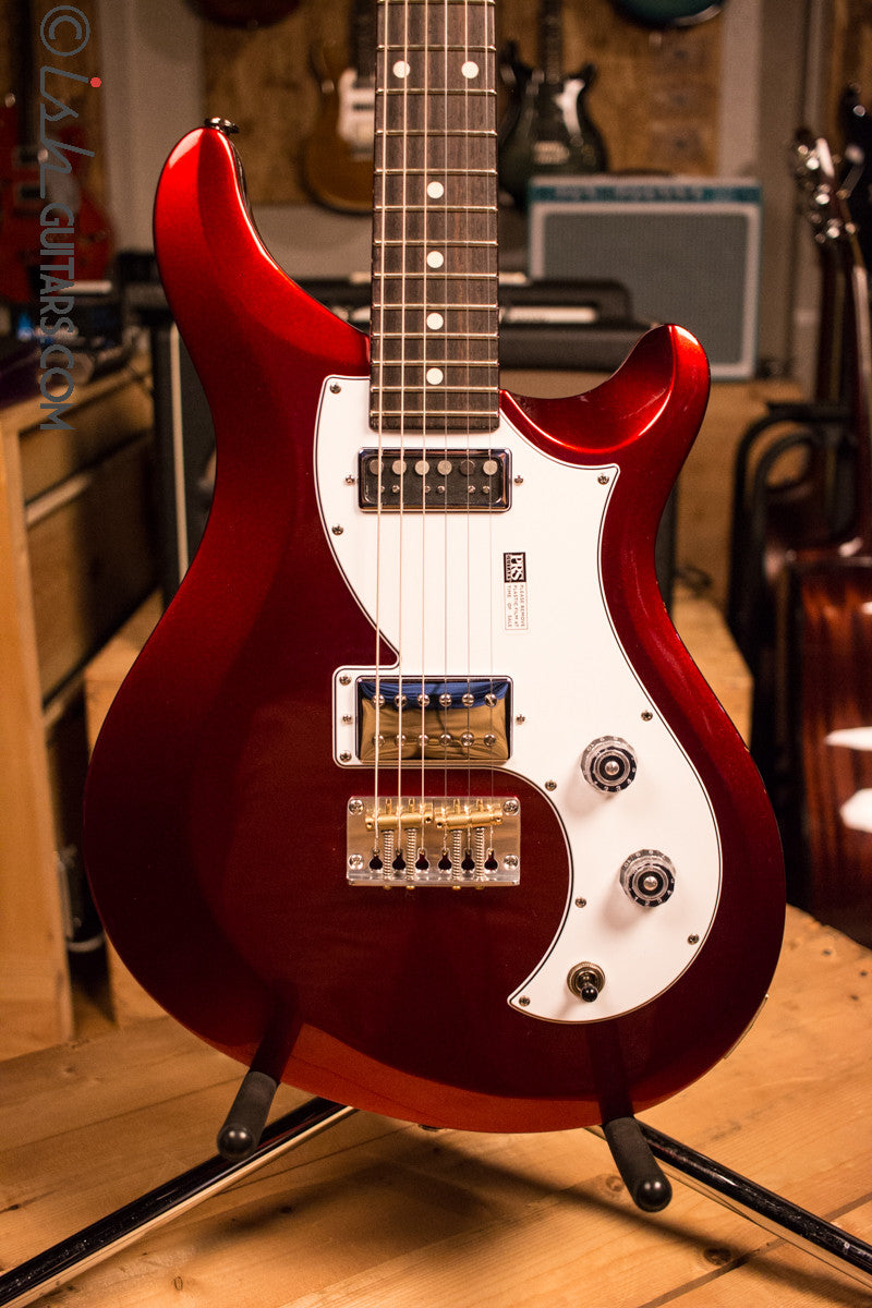 Paul Reed Smith Prs S2 Vela Custom Color Of The Month Red