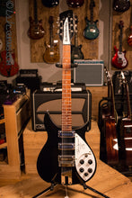 Rickenbacker 355 John Lennon Signature JL 355/12 String 325 Electric Guitar Black 1991