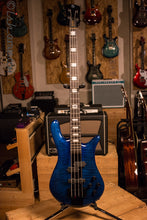 Spector Euro 4LX 40th Anniversary Blue 1 of 12 Limited Edition Bartolini Ebony