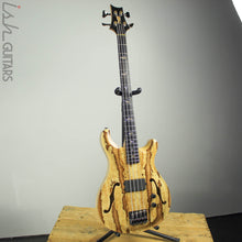 2018 PRS Private Stock Short Scale Hollowbody Bass Spalted Maple