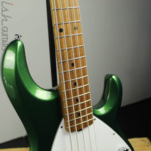 Ernie Ball Music Man StingRay 5 Special Charging Green