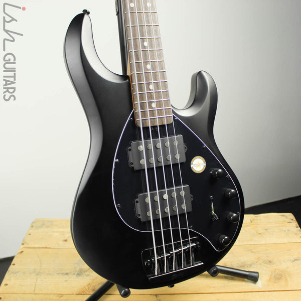 Sterling by Music Man StingRay 5 HH Stealth Black
