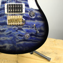 2018 Paul Reed Smith Custom 24 Quilted Maple 10 Top River Blue Smokewrap Burst