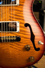 Paul Reed Smith Wood Library Hollowbody 1 Dark Cherry Sunburst with Maple Neck