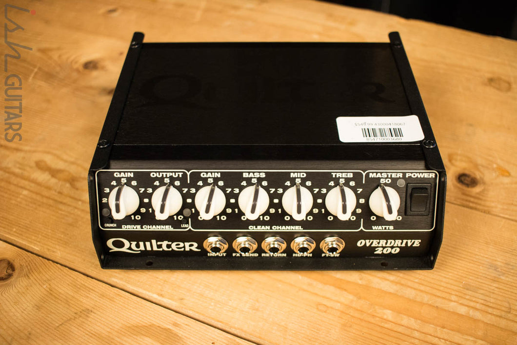 Quilter Overdrive 200W Amplifier