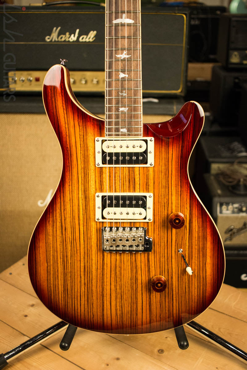 2018 Paul Reed Smith PRS SE Custom 24 - Zebrawood
