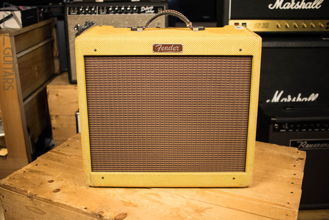 Fender Blues Junior Jr. Tweed Tube Amplifier