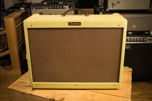 Fender Blues Deluxe Reissue Tweed Electric Guitar Amp