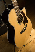 D'Angelico Premier Bowery 12 String Acoustic Electric Guitar Natural