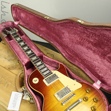 2018 Gibson Custom '59 Les Paul Standard Figured Red Sky Fade VOS