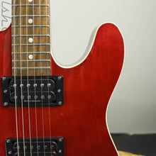 2000 Fender Squier Master Series Telecaster Standard Thinline Candy Apple Red