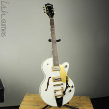 Gretsch G5655TG Limited Edition Electromatic Gold Hardware Snow Crest White