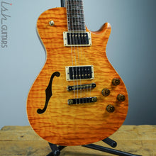 PRS Singlecut McCarty 594 Semi-Hollow Private Stock Satin Citrine Glow