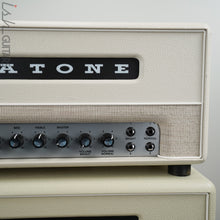 Magnatone Limited Edition White Super 59 MKII Head and Cabinet