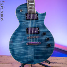 ESP LTD EC-256 Transparent Cobalt Blue