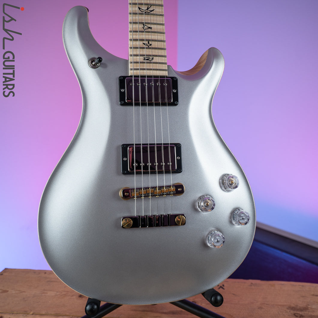 2020 PRS Paul Reed Smith McCarty 594 Wood Library Platinum Satin Ash Maple Neck