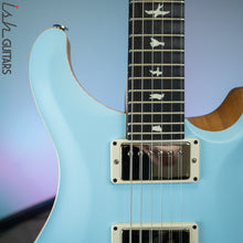 PRS CE 24 Satin Nitro 57/08 Ebony Fretboard Powder Blue