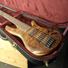 Fodera Emporer Bolt-on NAMM 2019 Bass Walnut Feather Crotch Top