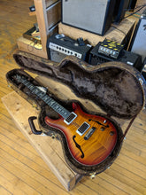 Paul Reed Smith Wood Library Hollowbody I Dark Cherry Sunburst w/ Matching Flamed Neck