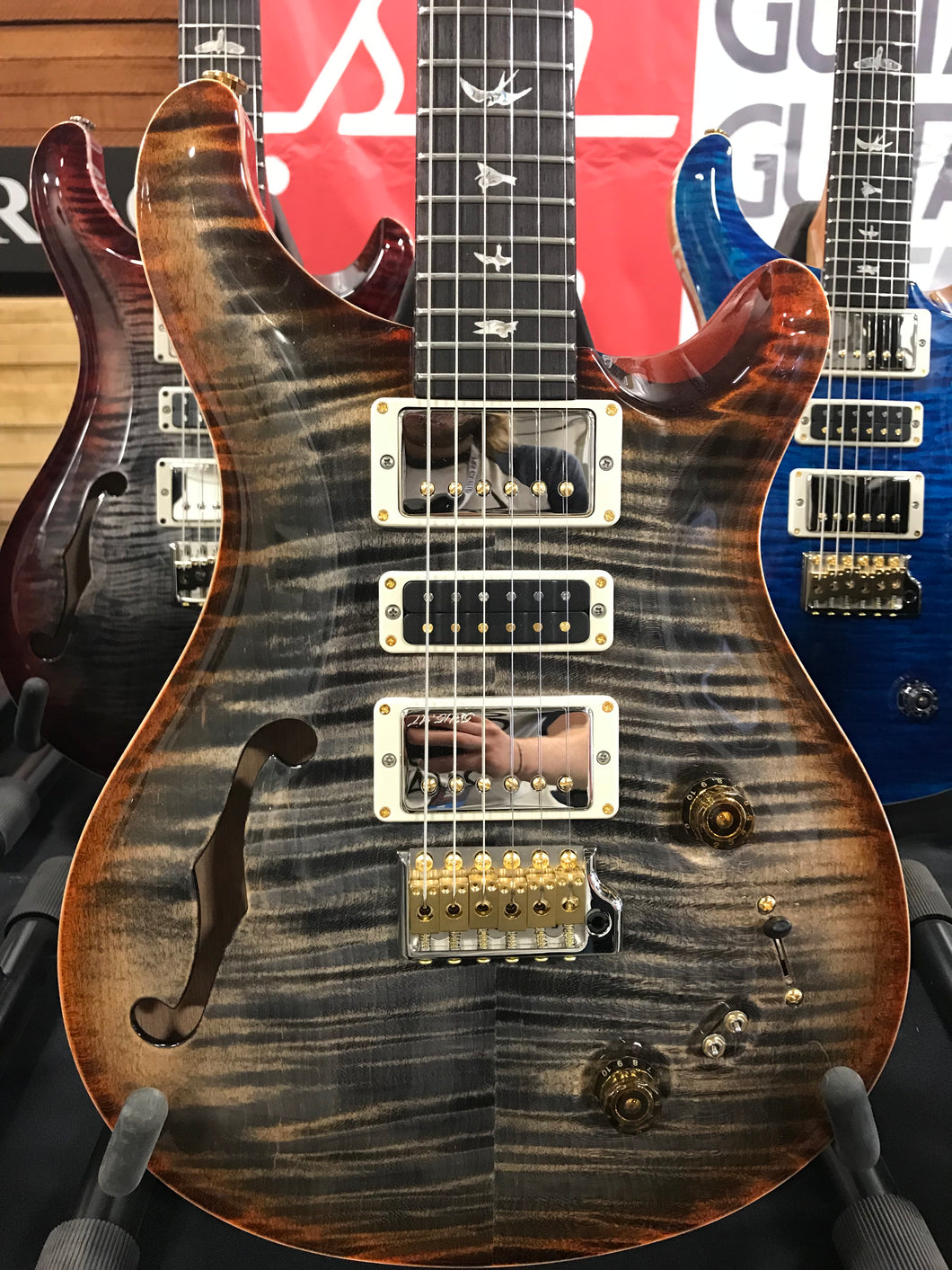 PRS Special Custom 22 Semi Hollow Experience Limited 10 Top