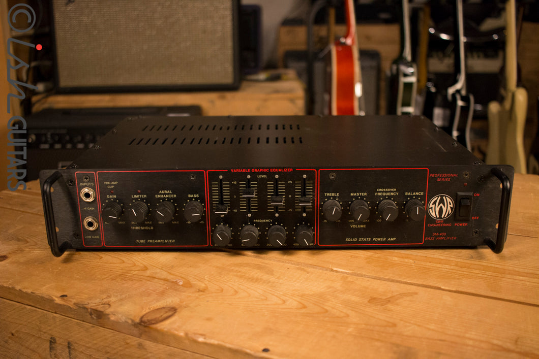 SWR Engineering SM-400 Bass Amp