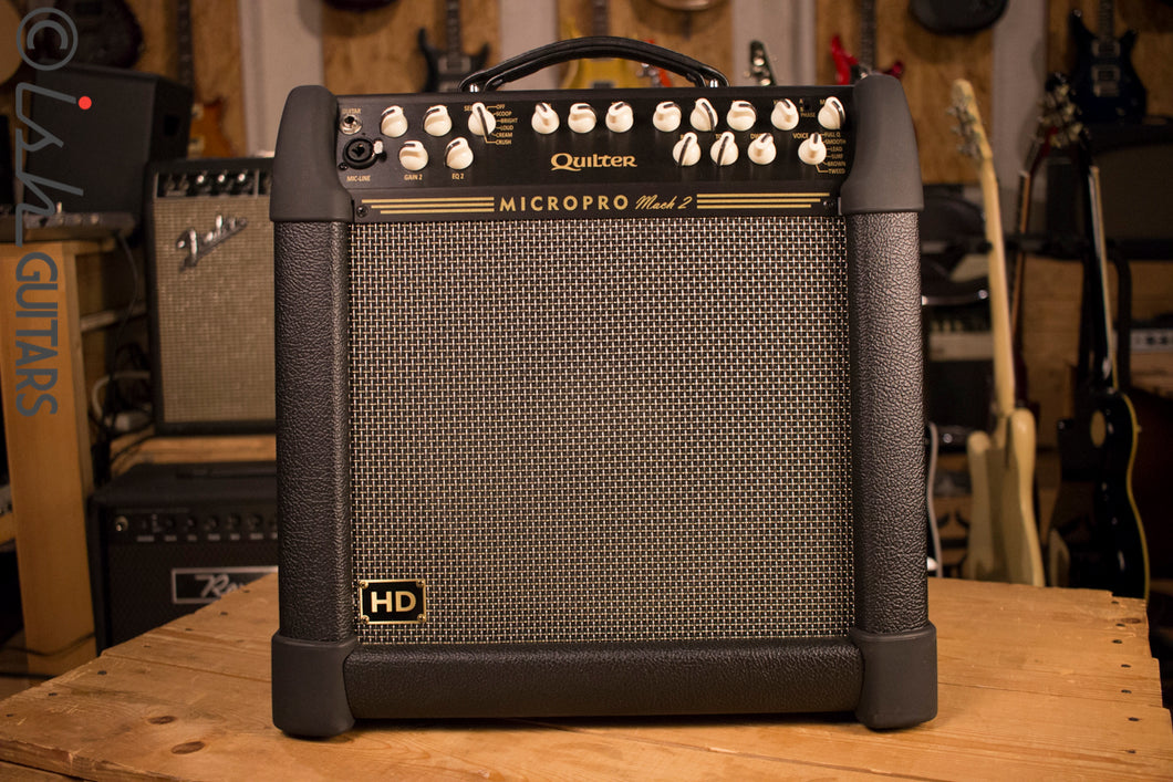 Quilter MicroPro Mach 2 12 Inch HD Heavy Duty Lightweight Guitar Amp Combo