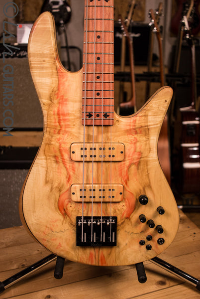 NAMM 2017 Fodera Japanese Maple Viceroy 4 Elite