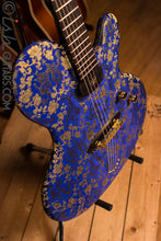 Ritter Princess Isabella Blue Dragon #6 of 25 Fabric Guitar