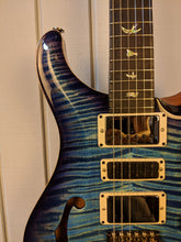2018 Paul Reed Smith Special 22 Semi Hollow Wood Library Aquabluex Burst