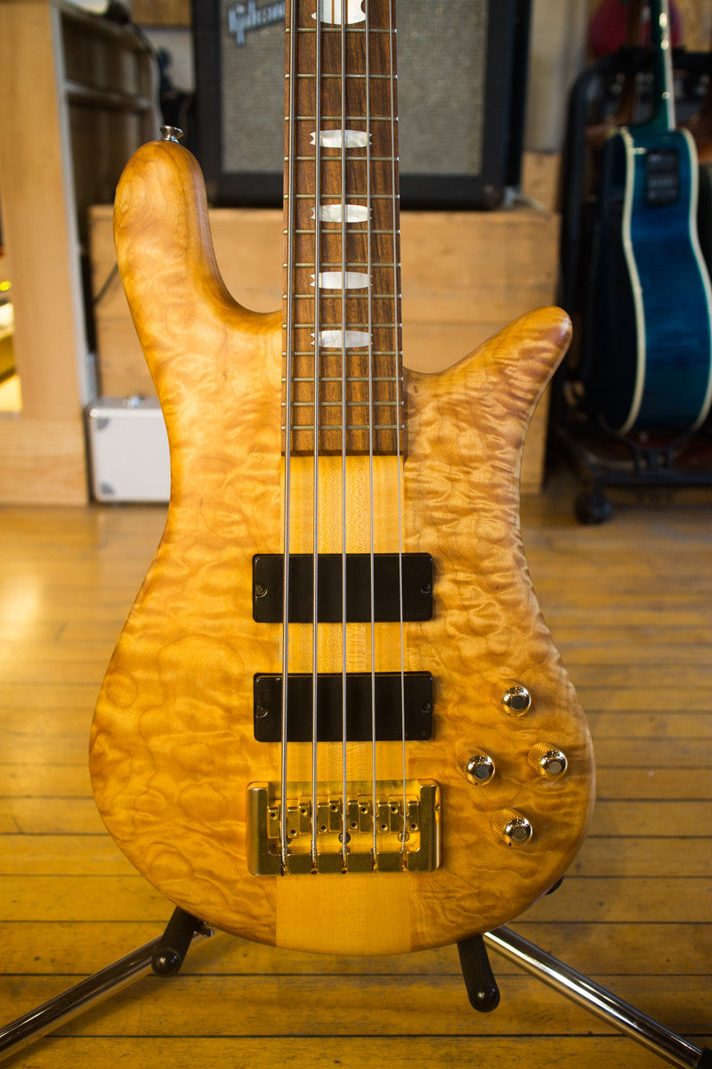 Spector SSD NS-5 1993 Solid Quilted Maple Natural