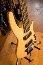NS Designs CR5 Bass Guitar Natural Satin Fretted Headless