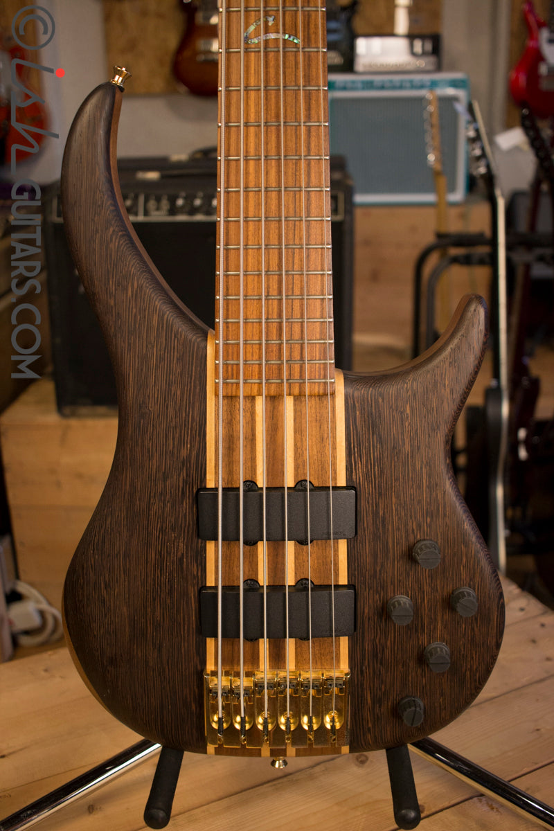 USA Peavey Cirrus 6 String Bass Wenge Top Neck Through 2010