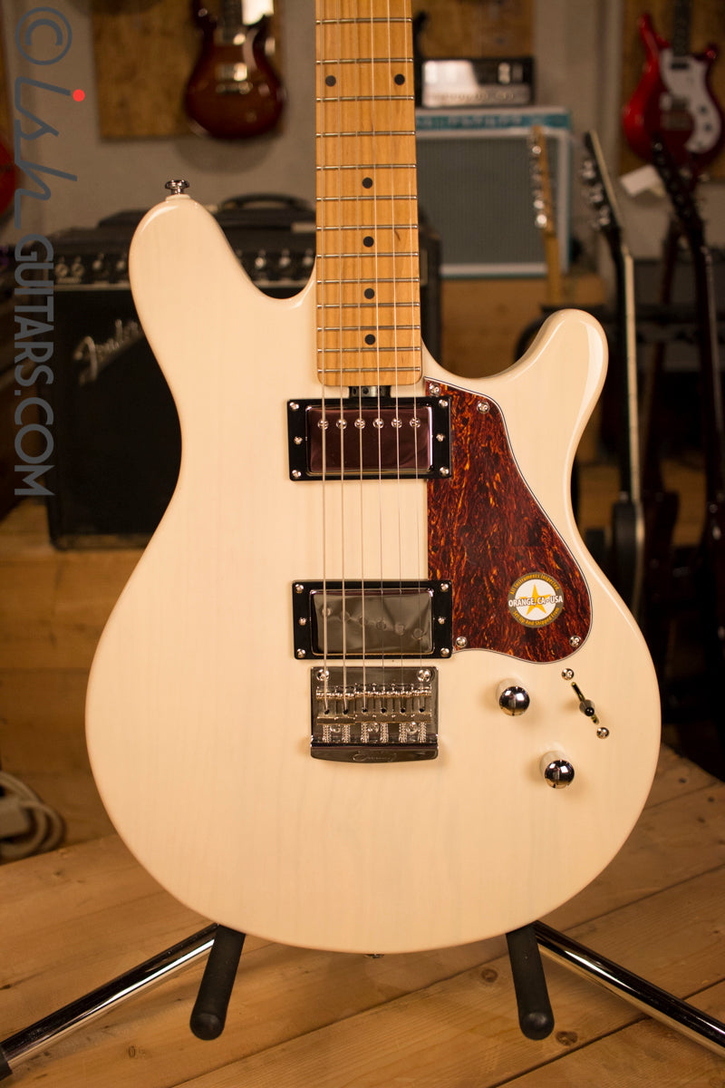 Sterling by Music Man Valentine Signature Electric Guitar Trans Buttermilk