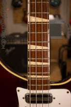 1972 Rickenbacker 4001 RARE Burgundyglo Checker Binding #94