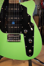 2000's USA Reverend Guitar Slingshot Custom Lime Green RARE
