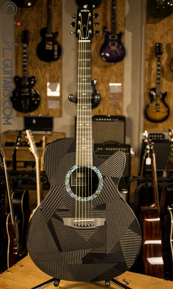 Rainsong BI-WS1000N2 Black Ice Carbon Fiber Composite Acoustic Guitar