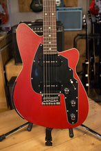 2000's USA Reverend Slingshot Advanced Guitar Blood Red Bass Contour RARE