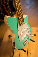 USA Reverend RumbleFish Turquoise 4 String Bass RARE
