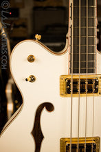 Gretsch G6136LSB White Falcon Bass Store Demo