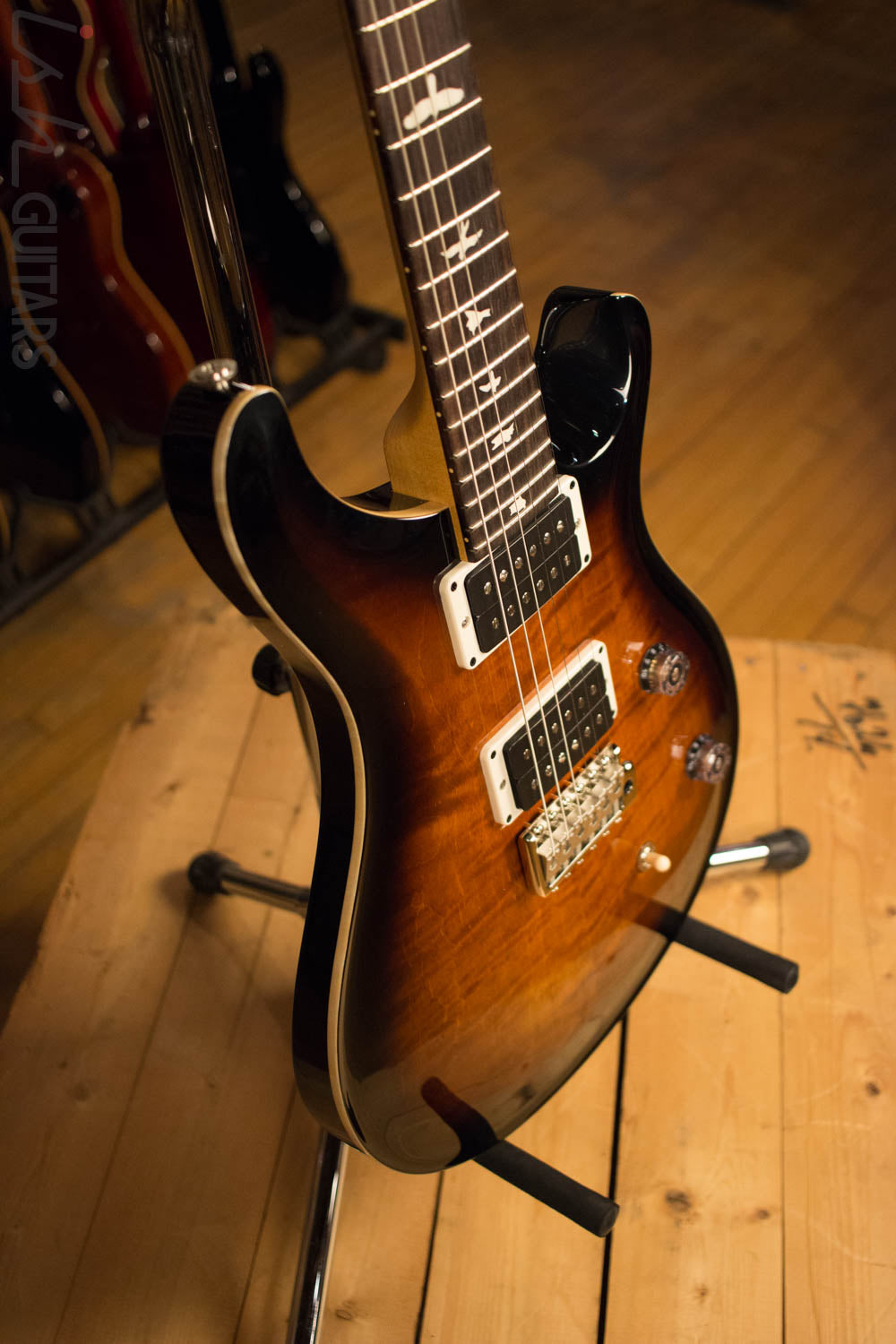 Paul Reed Smith Prs Ce24 Custom Color Amber Burst Electric