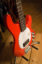 Sterling by Music Man S.U.B. Ray4 Electric Bass Guitar Fiesta Red