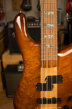 Used Spector NS-2 NAMM 2017 Solid Redwood Burl Lightweight 7.5lb