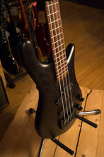 USA Spector Forte 4 Matte Black Swamp Ash Neck Through Bass Guitar