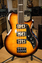 Supro 2043 Huntington III Short Scale with Piezo Pickup Flame Tobacco Sunburst Store Demo
