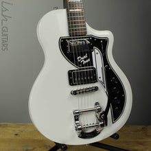 Supro David Bowie Limited Edition Dual Tone Electric Guitar White Finish