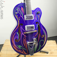 2011 Gretsch Brian Setzer Hot Rod Purple Pinstripe