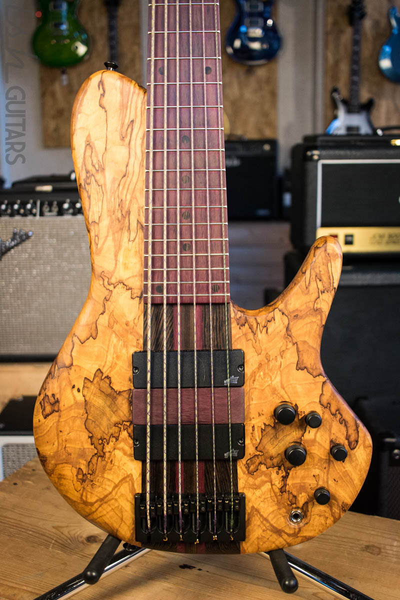 Mattisson Series IV Singlecut 6 String Bass Guitar